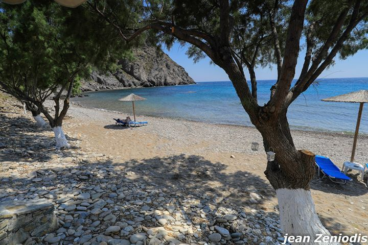 The picturesque beaches of Psara