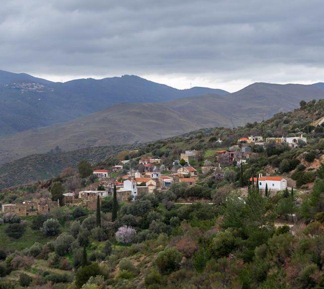 Τα Διευχά είναι ένα μικρό ορεινό χωριό της βορειοδυτικής Χίου