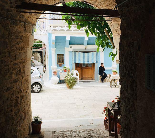 Η Καλαμωτή της Χίου είναι ένα από τα πλουσιότερα χωριά της Χίου