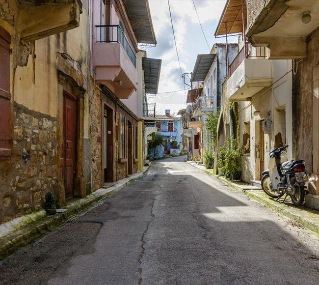 Το χωριό των Βαβύλων στην Κεντρική Χίο
