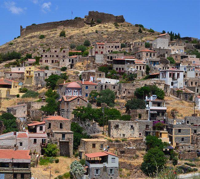 Το μεγαλύτερο χωριό της Αμανής, η Βολισσος