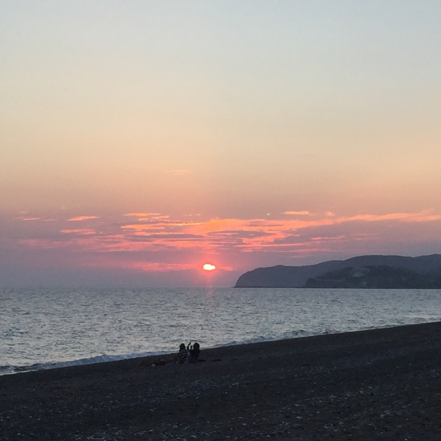 Managros, the ultimate August beach on Chios Island